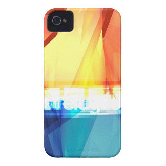 抽象的で多彩なデザイン Case-Mate iPhone 4 ケース