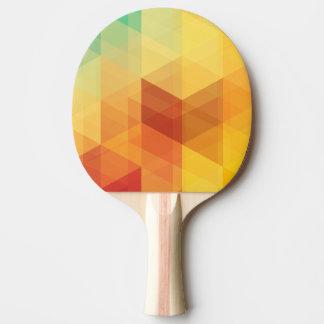抽象的で幾何学的なパターン2 卓球ラケット