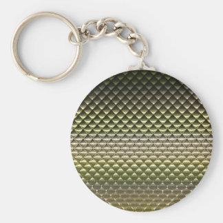 抽象的で幾何学的な形パターン質の勾配 キーホルダー