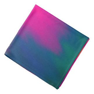 抽象的で数々のな色の背景 バンダナ