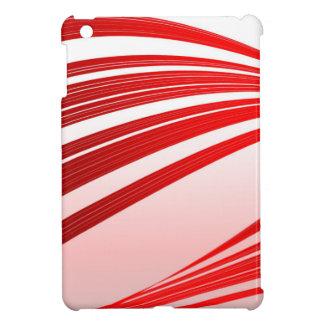 抽象的で赤い背景 iPad MINI CASE