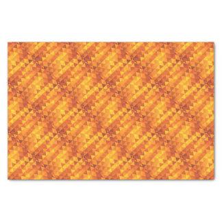 抽象的で黄色い三角形 薄葉紙