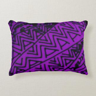 抽象的で黒いですか紫色のデザイン#3 アクセントクッション