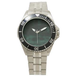 抽象的で黒い夢みるよう 腕時計