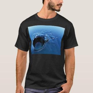 抽象的なしぶき Tシャツ
