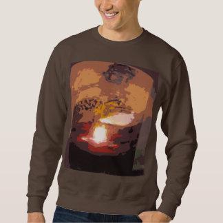 抽象的なわにハ虫類の芸術 スウェットシャツ