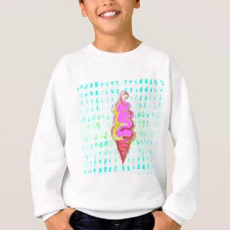 抽象的なアイスクリーム スウェットシャツ