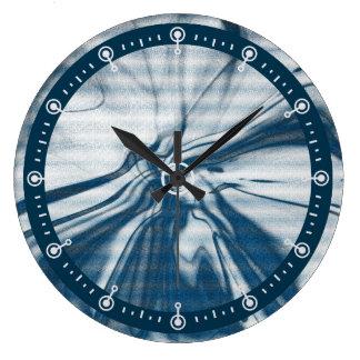 抽象的なアートワーク ラージ壁時計