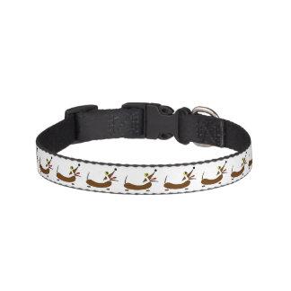 抽象的なウインナー犬のペット用首輪 ペット首輪
