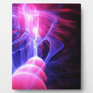 抽象的なエネルギー背景 フォトプラーク