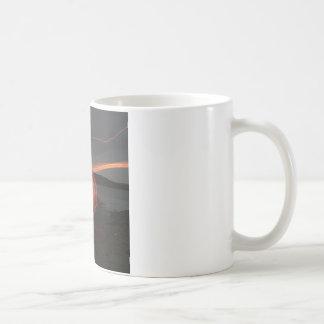 抽象的なカッコいい光速 コーヒーマグカップ