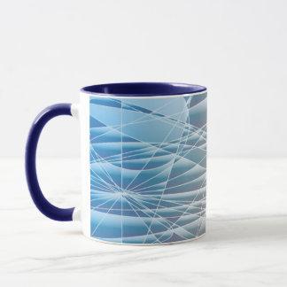 抽象的なカーブ マグカップ