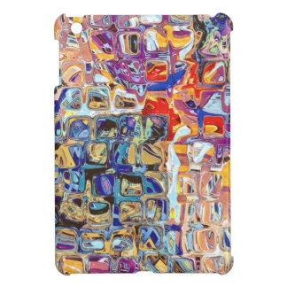 抽象的なガラス・ブロック iPad MINIケース
