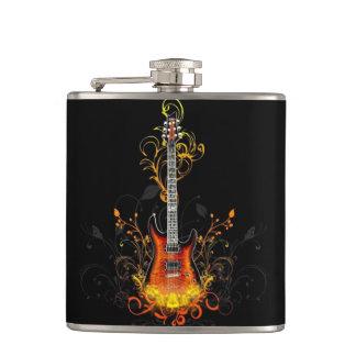 抽象的なギター フラスク