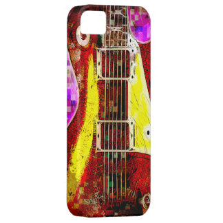 抽象的なギター iPhone 5 CASE