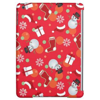 抽象的なクリスマスパターン iPad AIRケース