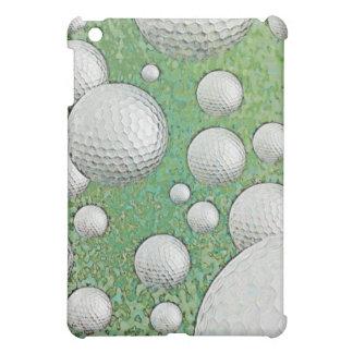 抽象的なゴルフ・ボール iPad MINI カバー