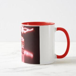 抽象的なサイコロ3 マグカップ