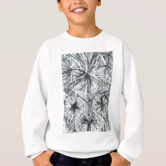 抽象的なシャンデリア(抽象的表現主義) スウェットシャツ