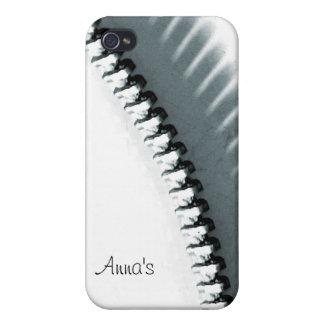抽象的なジッパーのiPhoneの場合 iPhone 4/4Sケース
