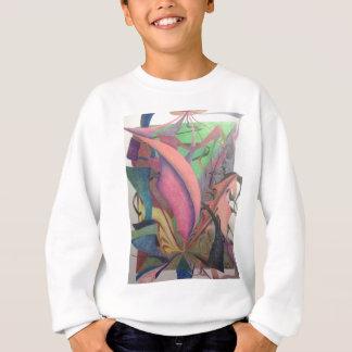 抽象的なスケッチ スウェットシャツ