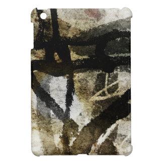 抽象的なスケッチ iPad MINI CASE