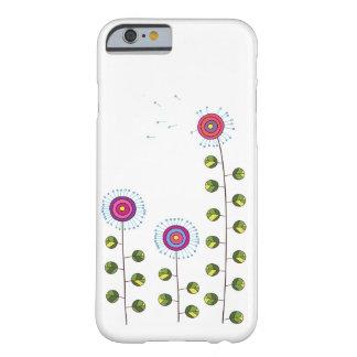 抽象的なタンポポ BARELY THERE iPhone 6 ケース