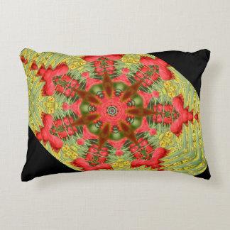 抽象的なチューリップの枕カバー アクセントクッション