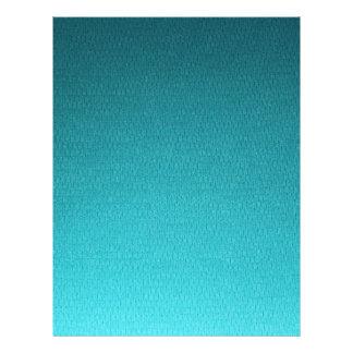 抽象的なティール(緑がかった色)の勾配パターン チラシ