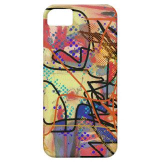 抽象的なデジタル絵画 Case-Mate iPhone 5 ケース