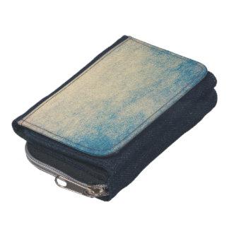 抽象的なデニムの財布のRetoのグランジなヴィンテージ ウォレット