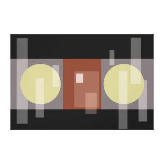 抽象的なドア キャンバスプリント