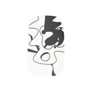 抽象的なネイルアート(無制限LI6) ネイルアート