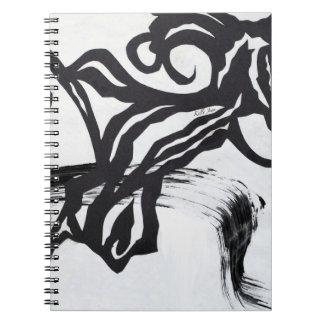 抽象的なノート ノートブック