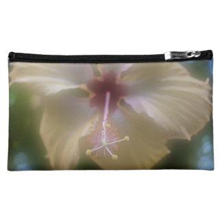 抽象的なハイビスカスの花 コスメティックバッグ