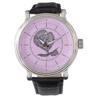 抽象的なハートの腕時計 腕時計
