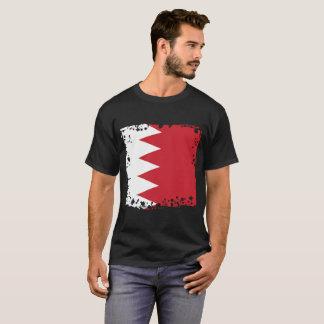 抽象的なバーレーンの旗のTシャツ Tシャツ