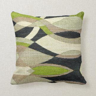 抽象的なパターンのレトロスタイルを作られた装飾用クッション クッション