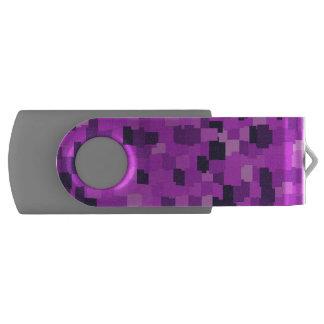 抽象的なパターンカムフラージュのピンク USBフラッシュドライブ