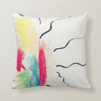 抽象的なパターン枕 クッション
