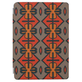 抽象的なパターン継ぎ目が無い灰色およびオレンジ iPad AIR カバー