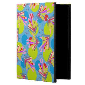 抽象的なパターン青および緑のアラベスク POWIS iPad AIR 2 ケース