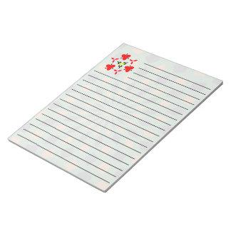 抽象的なパターン ノートパッド