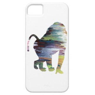 抽象的なヒヒのシルエット iPhone SE/5/5s ケース