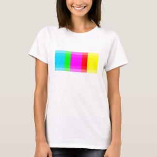 抽象的なピクセルTシャツ Tシャツ