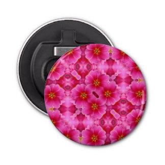 抽象的なピンクの蘭パターン 栓抜き