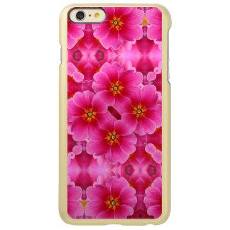 抽象的なピンクの蘭パターン INCIPIO FEATHER SHINE iPhone 6 PLUSケース