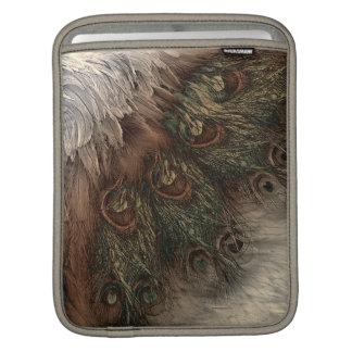 抽象的なファンタジーの羽 iPadスリーブ