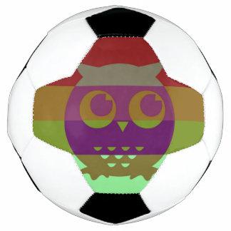 抽象的なフクロウのサッカーボール サッカーボール