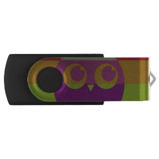 抽象的なフクロウUSBのフラッシュドライブ USBフラッシュドライブ